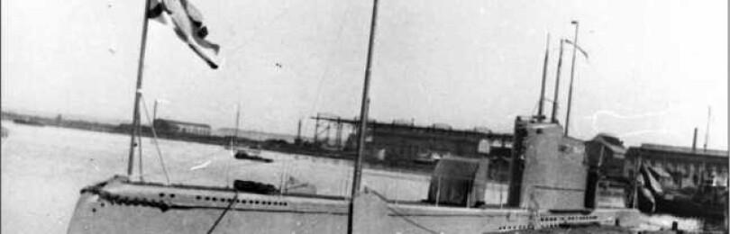 Подводная лодка «Лембит» в Таллине