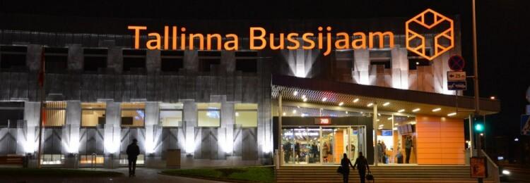Автовокзал Таллина Bussijaam.ee