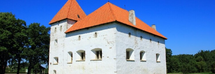 Замок Пуртсе в Эстонии