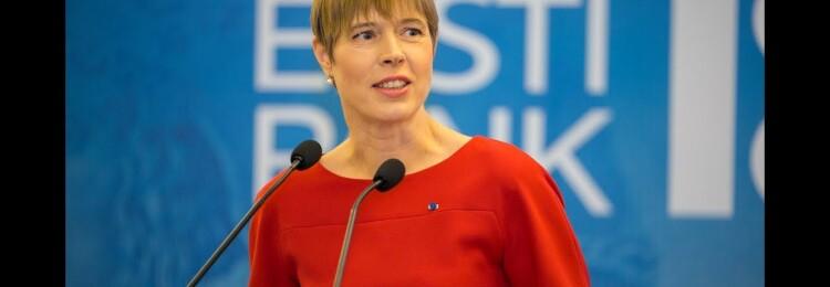 Керсти Кальюлайд президент Эстонии