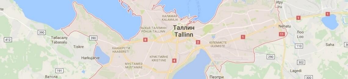 Карта Таллина