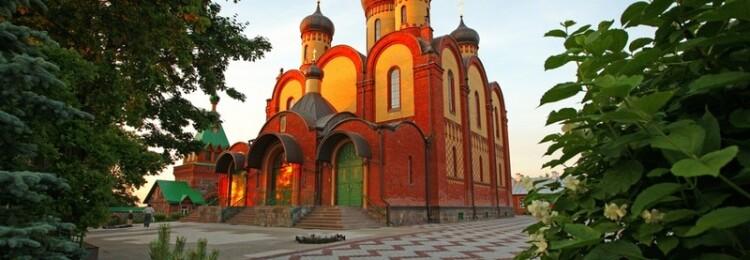 Пихтюцкий монастырь в Эстонии