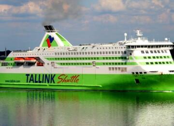Паром из Таллина в Хельсинки