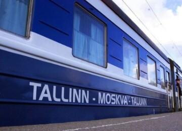 Поезд Таллин – Москва