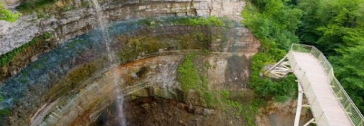 Водопад Валасте в Эстонии