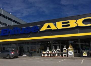 Магазин строительных материалов Ehituse ABC в Эстонии