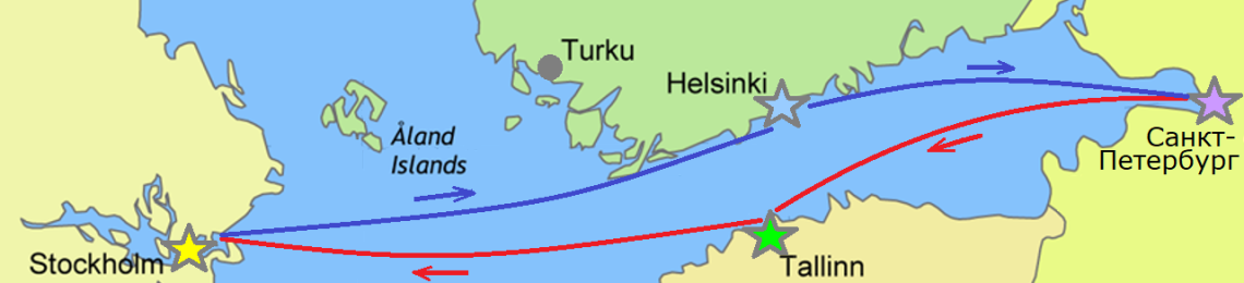 Паром Таллин Санкт-Петербург