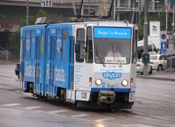 Общественный транспорт в Таллине