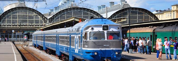 Санкт-Петербург Таллин поезд