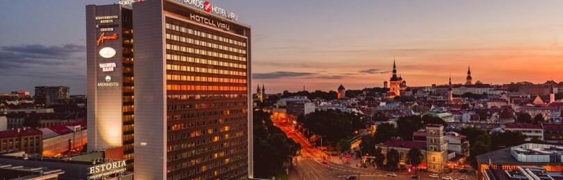 Отель Original Sokos Hotel Viru 4* в Таллине