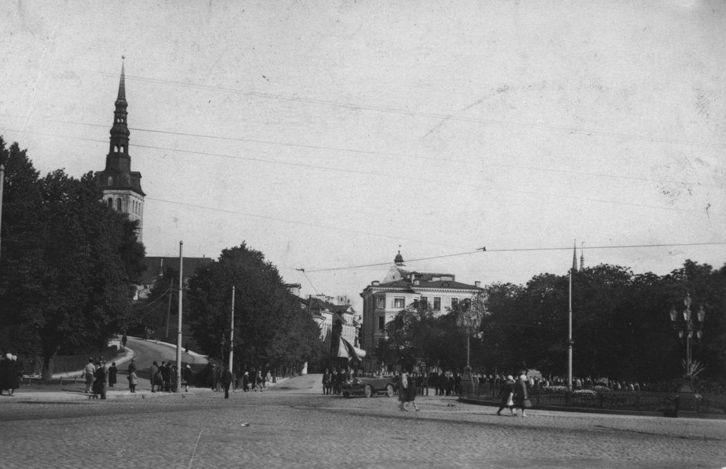 Площадь Свободы, Таллин, 1930 год
