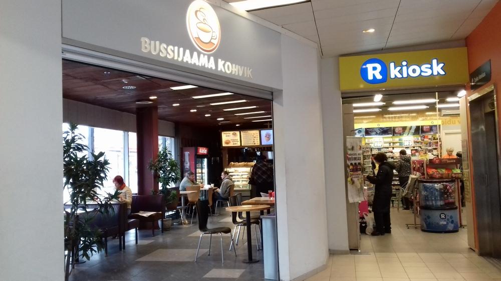 Тартуский автовокзал, Эстония