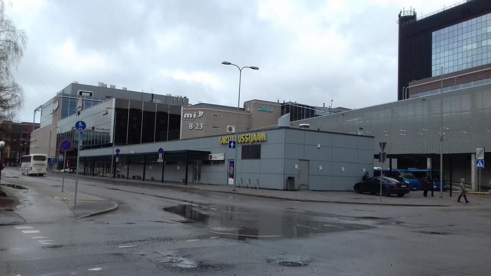 Здание автовокзала Тарту, Эстония