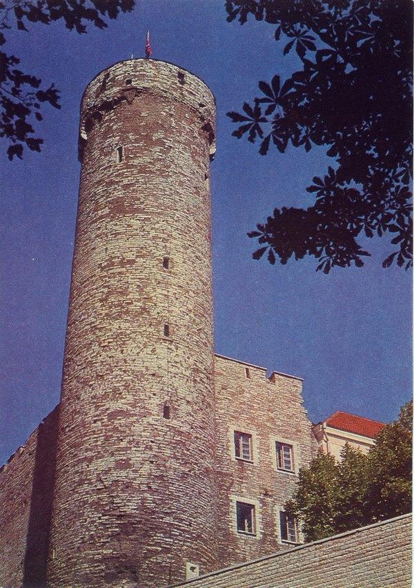 Башня длинный Герман, 1975 год, Таллин