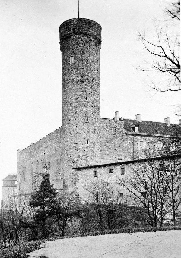 Башня длинный Герман, 1920 год, Таллин