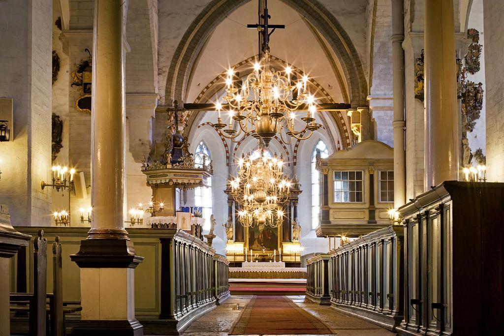 Алтарь Домского собора в Таллине