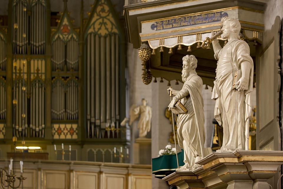 Интерьер Домского собора, Таллин
