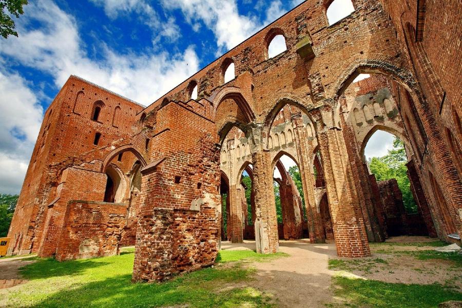 Развалины Домского собора, Тарту