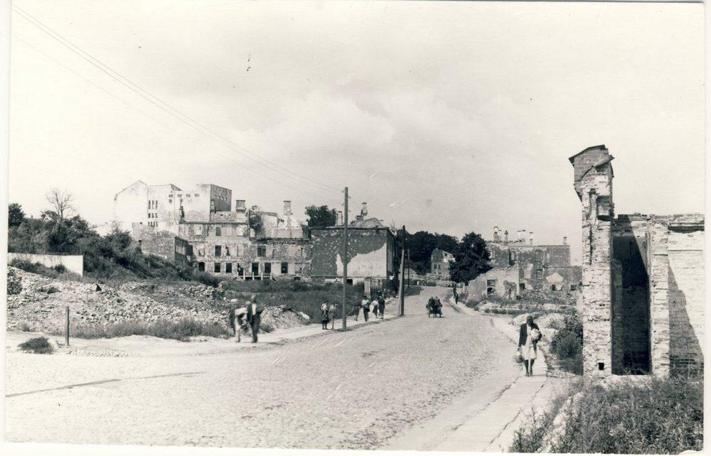 Улица Kalevi, Тарту, 1946 год