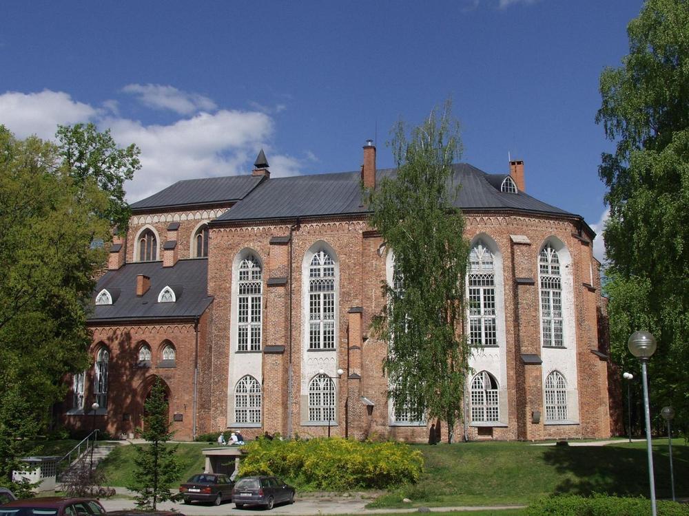Музей Тартуского университета в Домском соборе