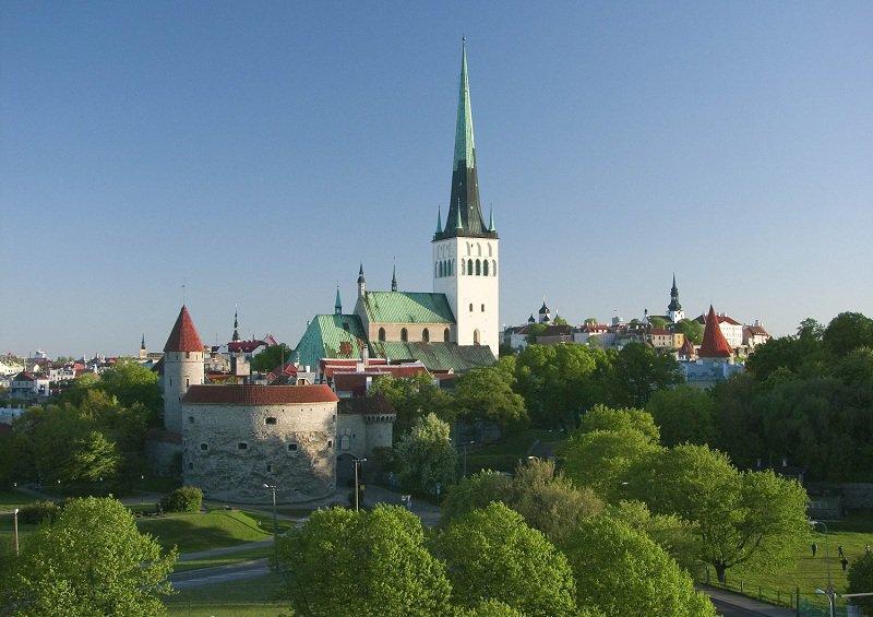 Церковь Святого Олафа в Таллин