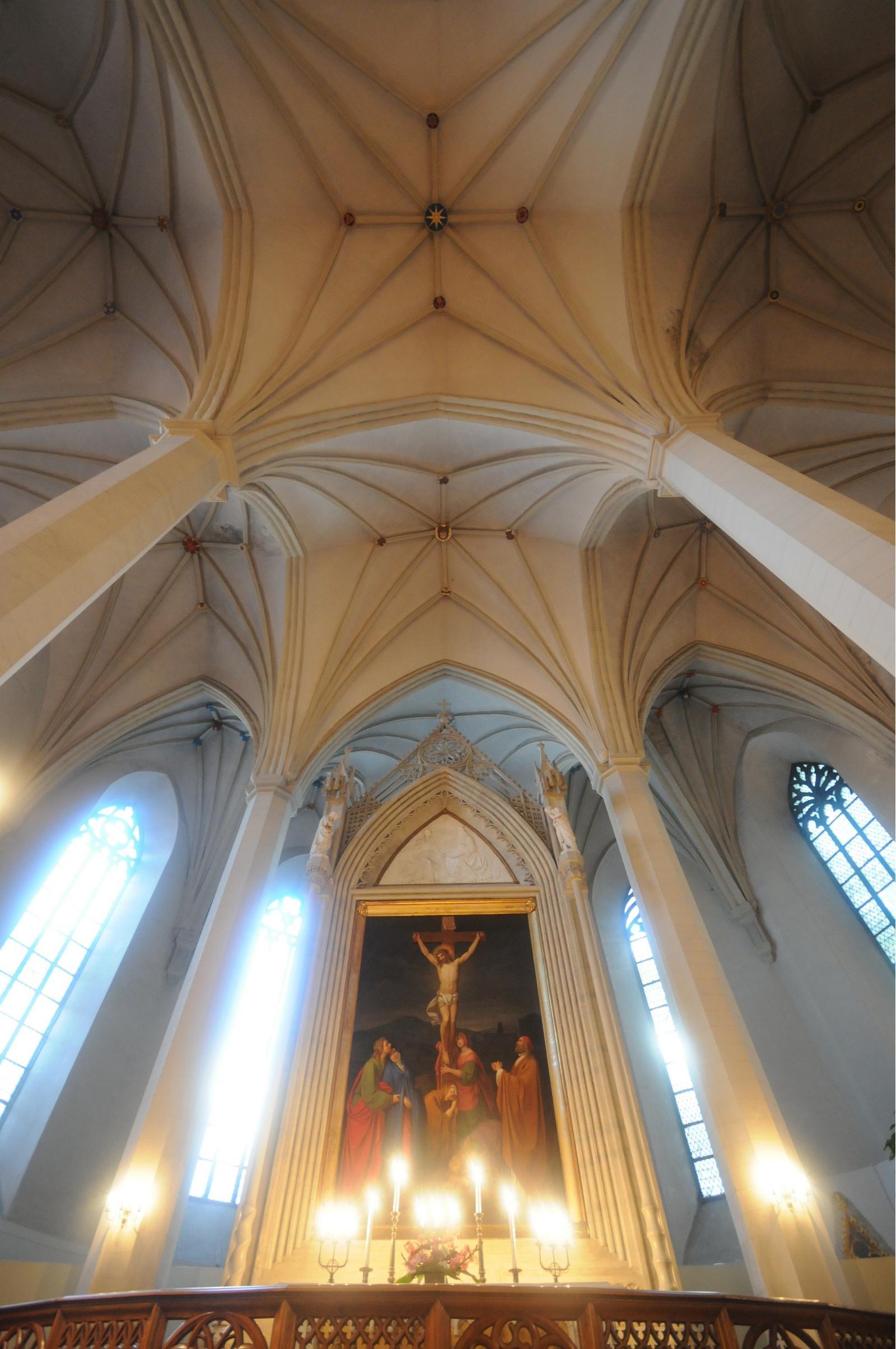 Церковь Святого Олафа: внутренние убранства
