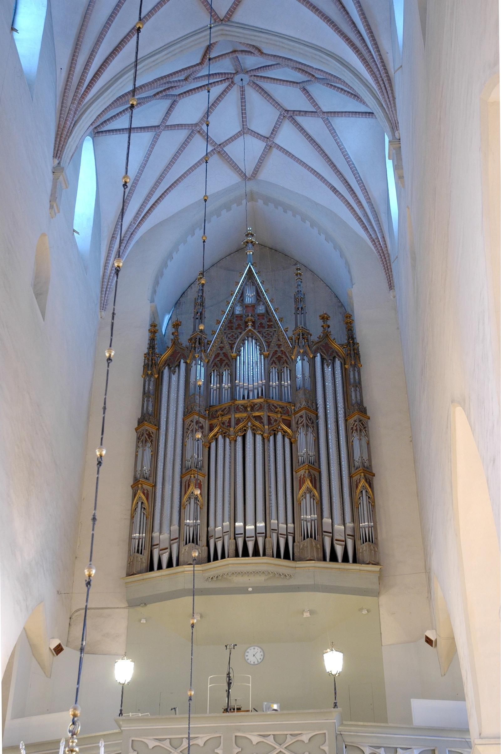 Церковь Святого Олафа: интерьер