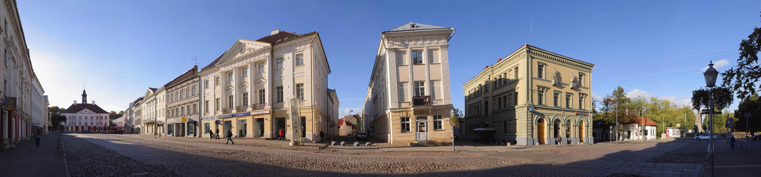 Кривой дом в Тарту