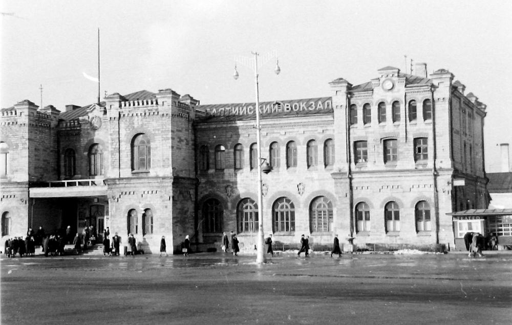 Первоначальное здание Балтийского вокзала в Таллине