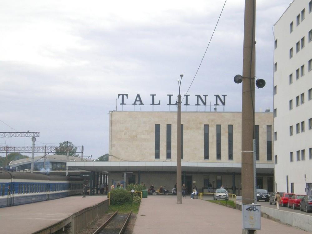 Балтийский вокзал, Таллин