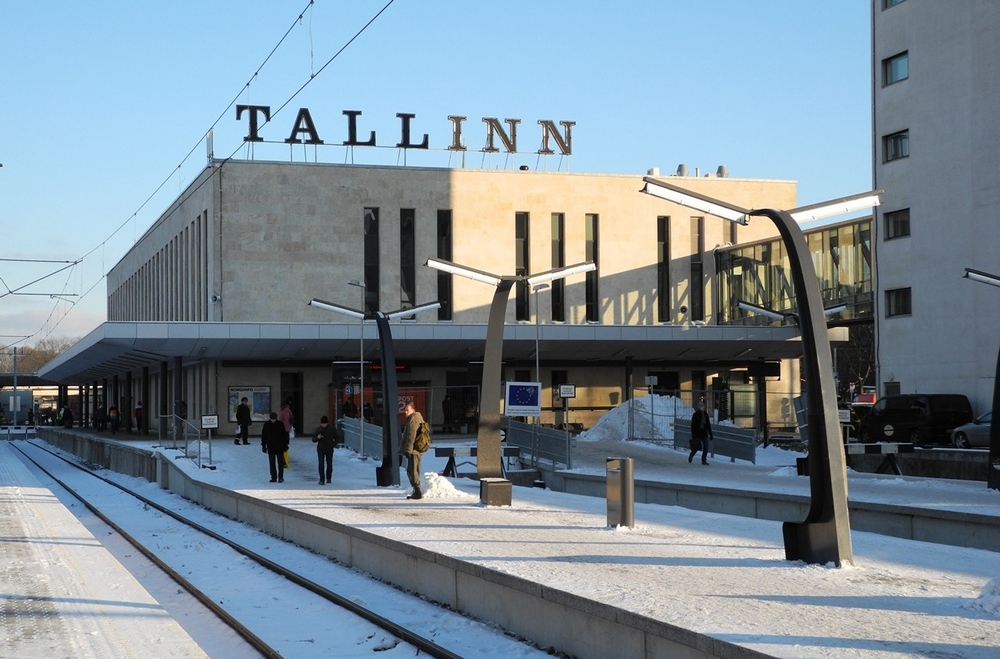 Ж/д вокзал Таллина
