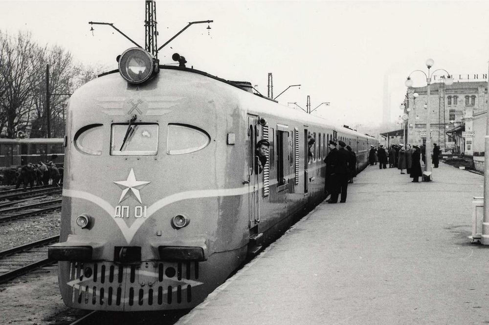 Ж/д вокзал Таллина 1957