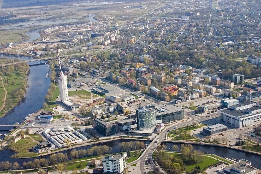 Тарту, панорама города