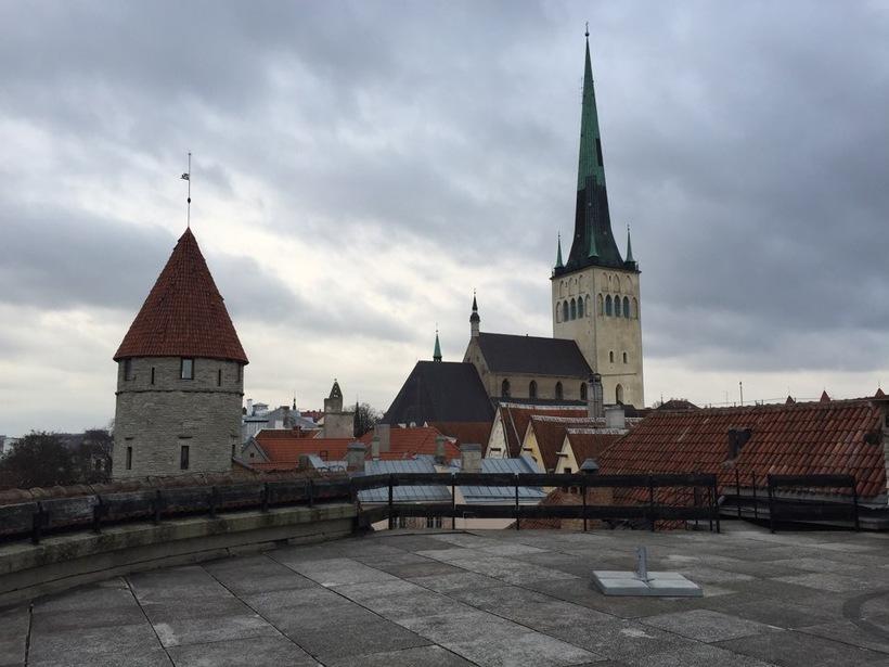 Толстая Маргарита в Таллине: смотровая площадка
