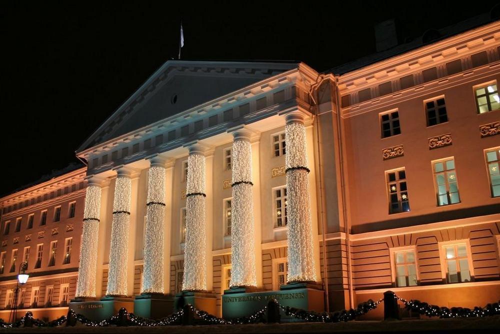 Университет Тарту на Рождество