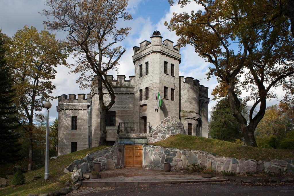 Общий вид замка Глена