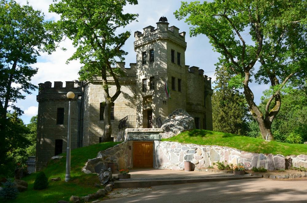 Замок Глена в Таллине, панорама