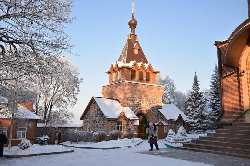 Пюхтицкий женский монастырь в Эстонии
