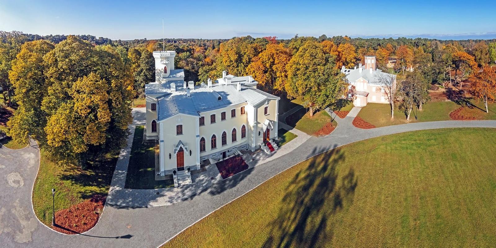Замок Фалль в Эстонии
