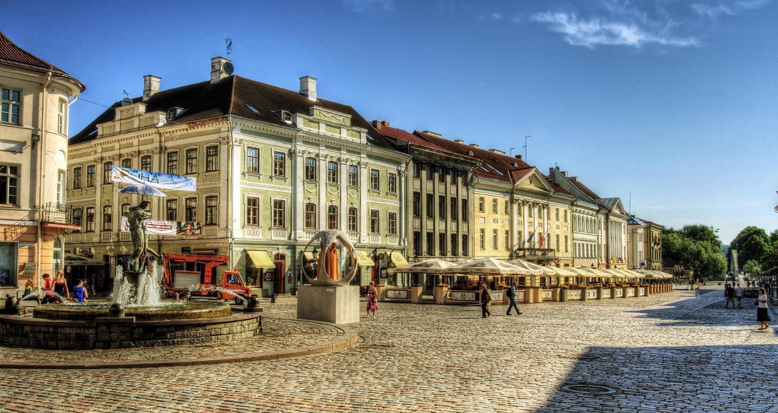 Город Тарту, Эстония
