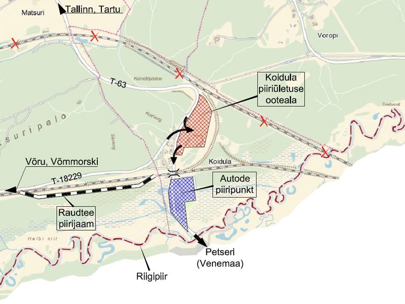 КПП Куничина Гора– Койдула