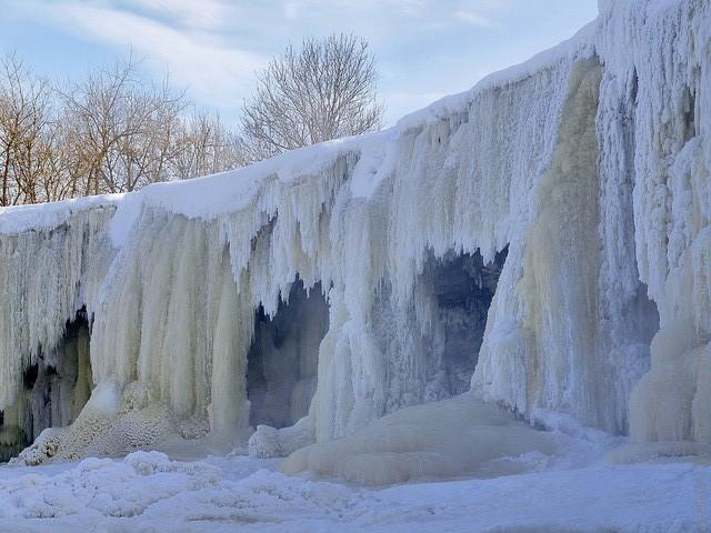 Кохтла-Ярве зимой