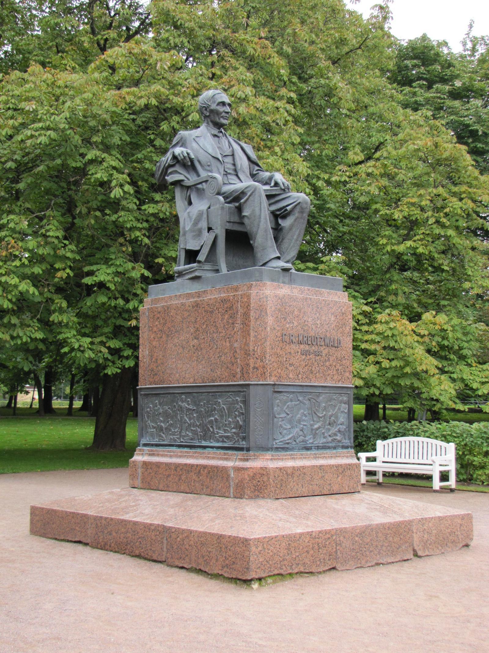 Памятник Фридриху Крейцвальду