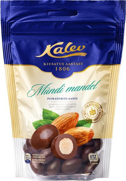Шоколад Kalev с миндалем