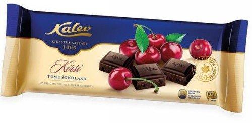 Шоколад Kalev с вишней