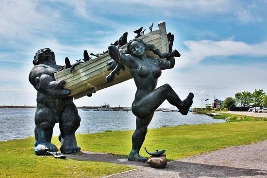 Скульптура Тылль и Пирет