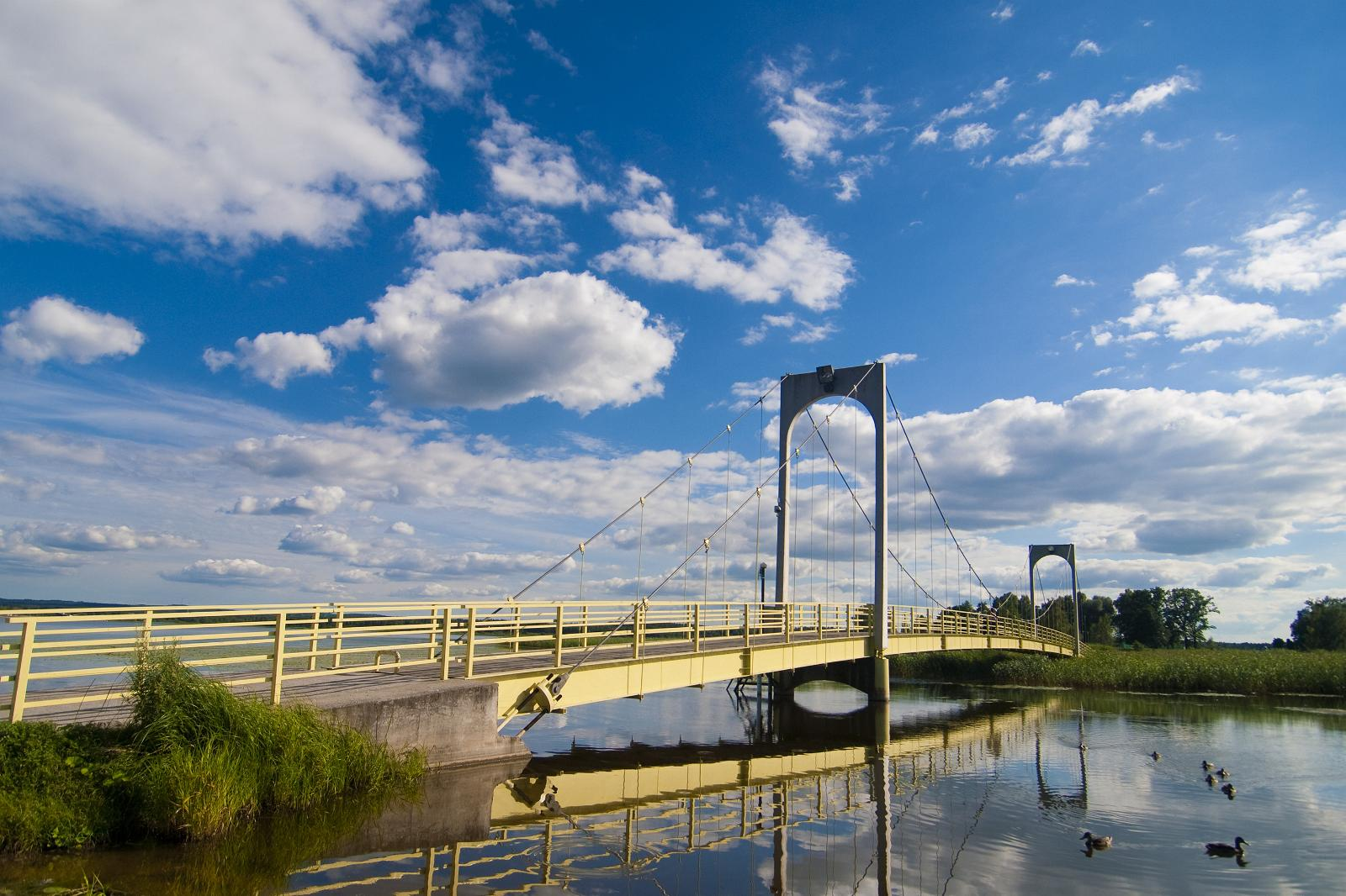 подвесной мост в выру