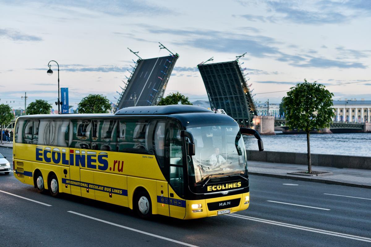 Автобус из Санкт-Петербурга в Нарву