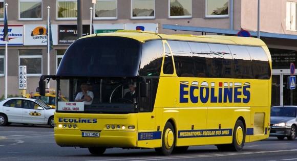 Автобус из Таллина в Санкт-Петербург