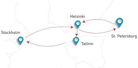 Круиз Спб-Хельсинки-Стокгольм-Таллин
